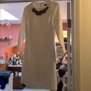 NWT M Zara Shift Dress Tunic Embellishment